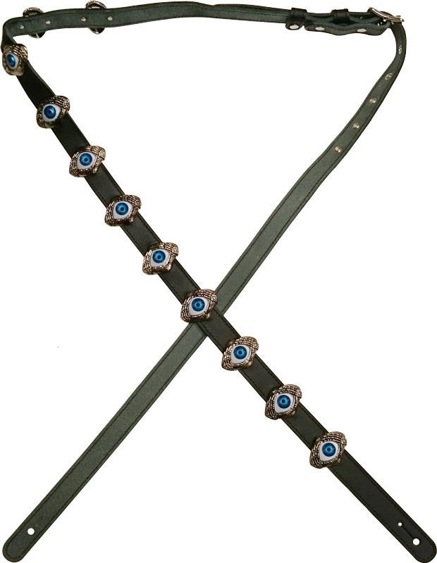 FERNANDES[フェルナンデス]ギター ストラップ HIDE 目玉 STRAP 最長 約172cm