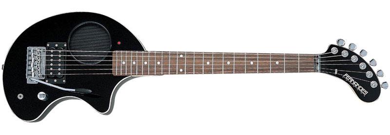 FERNANDES フェルナンデス アンプ内蔵ギター ZO-3芸達者 ブラック
