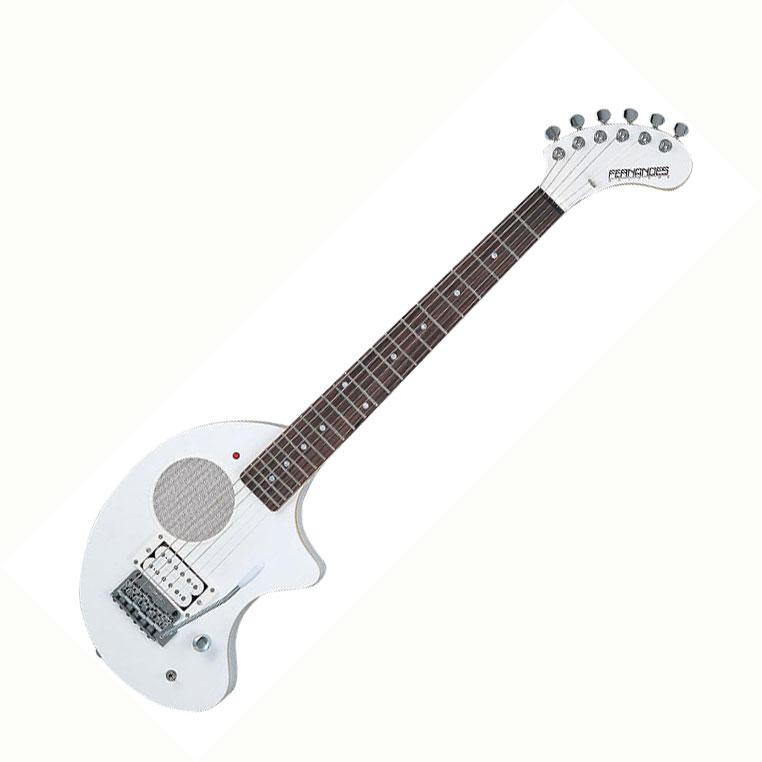 FERNANDES フェルナンデス アンプ内蔵ギター ZO-3芸達者 スノー・ホワイト