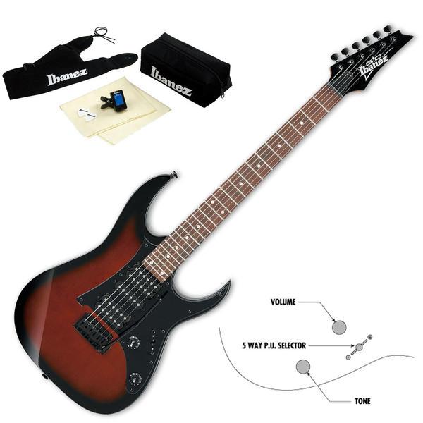 Gio Ibanez ジオ・アイバニーズ エレキギター GRG150B-WNS