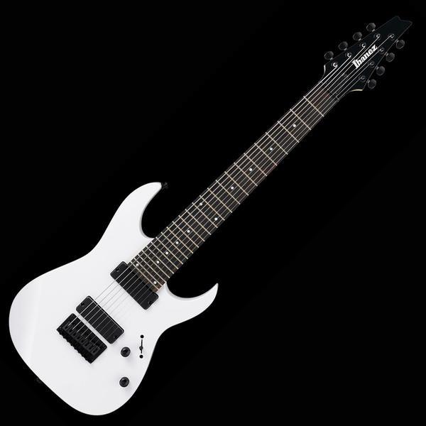 Ibanez アイバニーズ エレキギター RG8-WH 8弦モデル