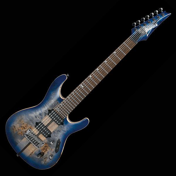 Ibanez アイバニーズ エレキギター S1027PBF-CLB 7弦モデル