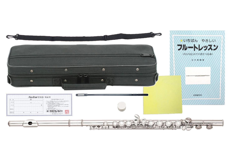 MAXTONE ( マックストーン ( ) flute TF-40N フルート 新品 調整済み品 管楽器 TF40N 初心者 本体 頭部管 主管 足部管 カバードキイ C管 flute【 TF40N セット D】 送料無料, ムロランシ:49953843 --- officewill.xsrv.jp