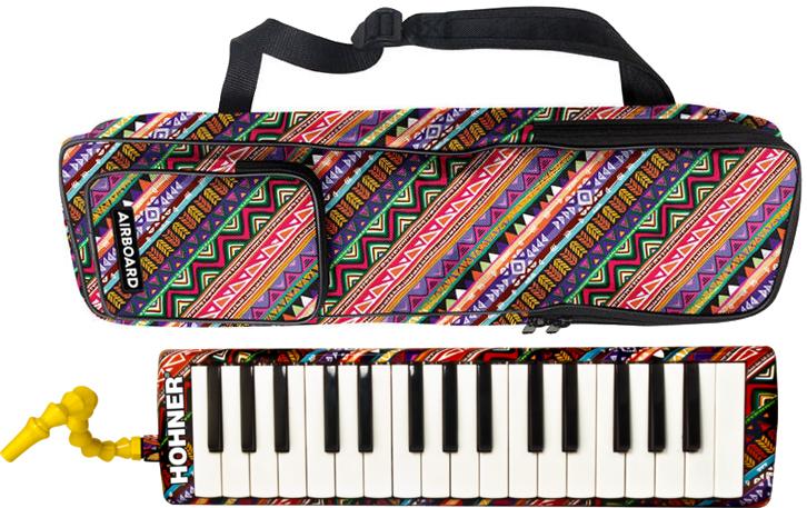 merodikaeabodo 32键盘口琴32钥匙hona版的pianika HOHNER AirBoard-32乐器本体情况立奏用吹来语气