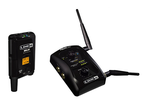 LINE6 ( ラインシックス ) RELAY G50【デジタル・ギター・ワイヤレス・システム WO 】【C4061 パッチケーブルプレゼント 】 12チャンネル2.4GHz デジタル・ギター・ワイヤレス・システム w/ストンプボックス型レシーバー