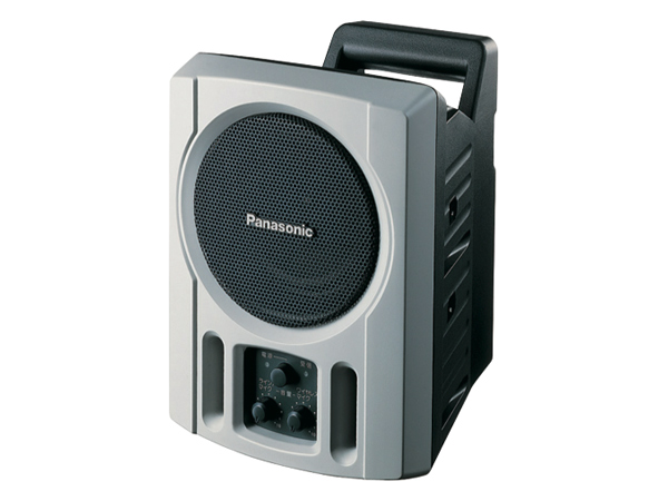 Panasonic ( パナソニック ) WS-X66A ◆ 800 MHz帯PLLワイヤレスパワードスピーカー [ ワイヤレスシステム 関連商品 ]