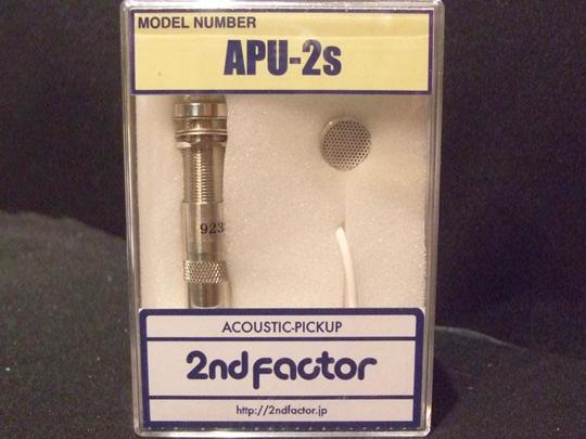 2nd Factor ( セカンドファクター ) APU-2S 【アコースティック ウクレレ ピックアップ】