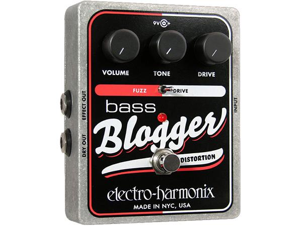 Electro Harmonix ( エレクトロハーモニクス ) Bass Blogger【ベース用ファズ ディストーション 】【EH4251】 ◆ コンパクトエフェクター