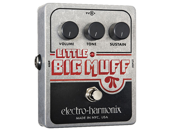 (Stompbox) Electro Harmonix Little Big Muff ◆ distortion stomp boxes