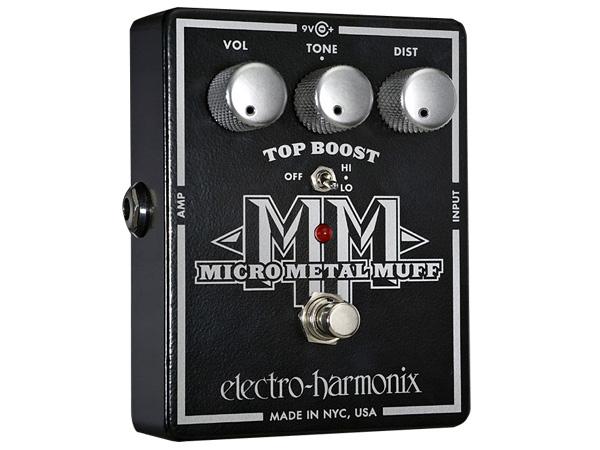 Electro Harmonix ( エレクトロハーモニクス ) Micro Metal Muff【EH3007 】 ◆ コンパクトエフェクター ディストーション