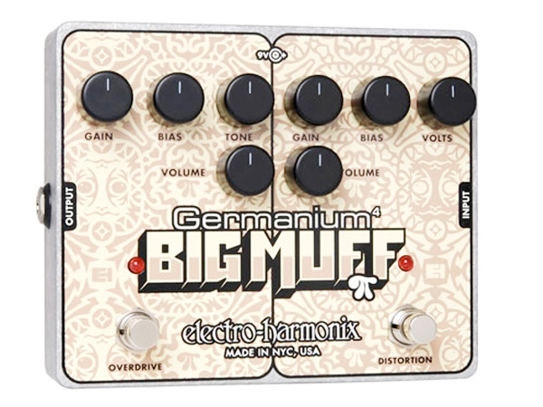 Electro Harmonix ( エレクトロハーモニクス ) Germanium 4 Big Muff【EH3025】 ◆ コンパクトエフェクター ディストーション オーバードライブ