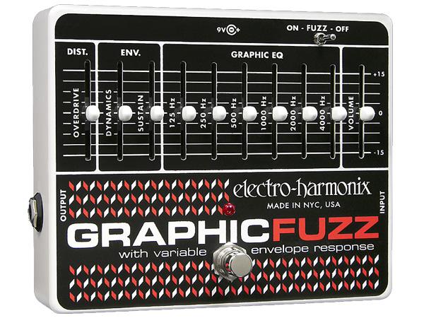 Electro Harmonix ( エレクトロハーモニクス ) Graphic Fuzz【EH8910 】 ◆ コンパクトエフェクター ファズ+EQ
