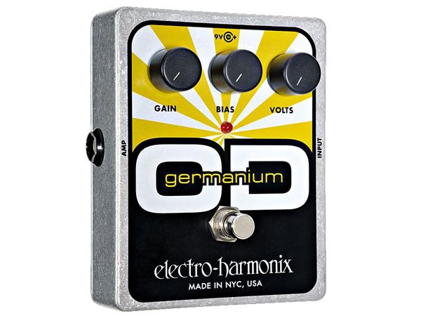 Electro Harmonix ( エレクトロハーモニクス ) Germanium OD【EH3020 】 ◆ コンパクトエフェクター オーバードライブ