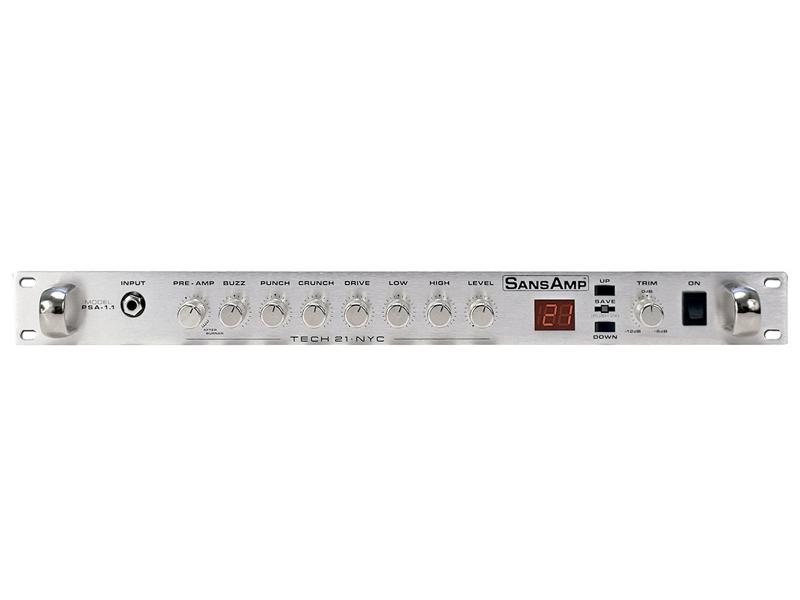 Tech21 ( テック21 ) PSA-1.1 【アナログ・ギター・プリアンプ】