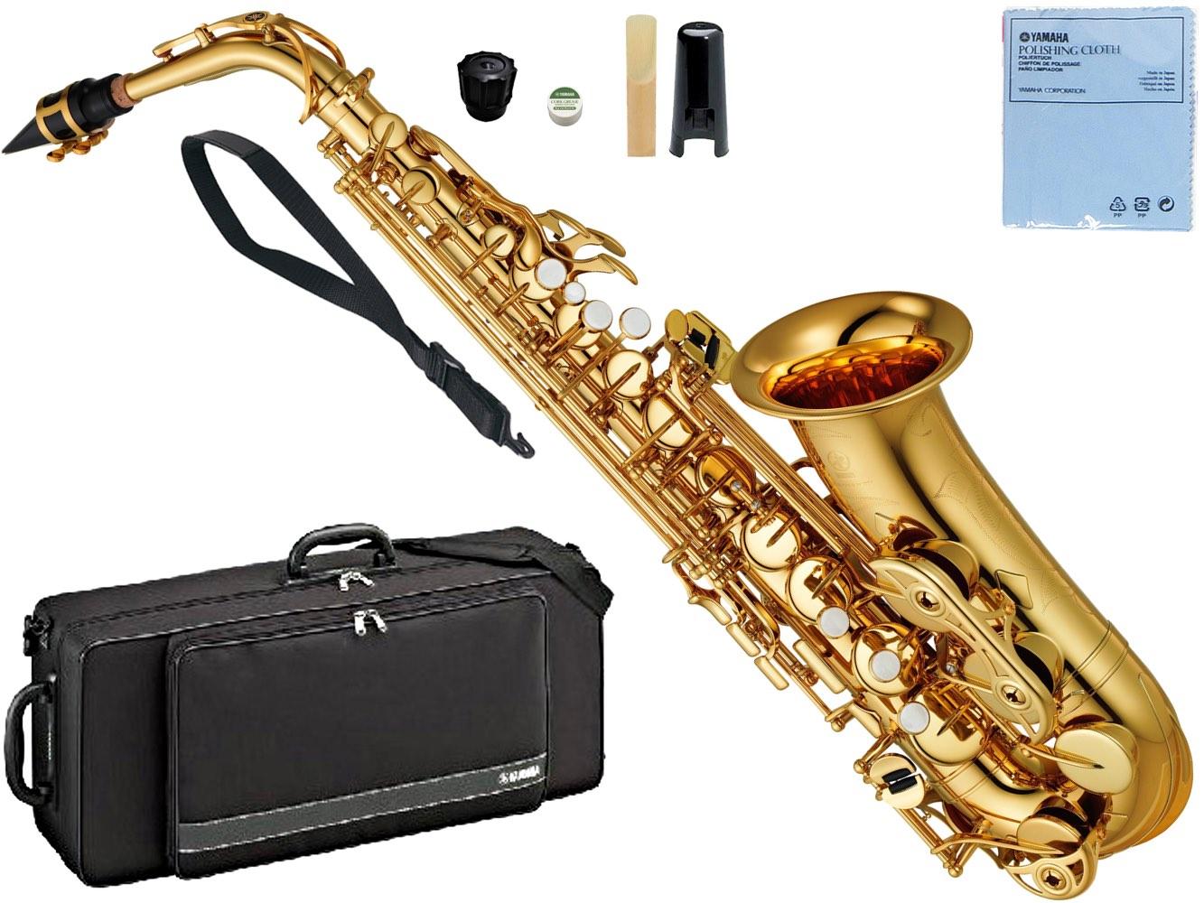 オプションネック対応 楽器 ケース マウスピース AS-4C YAMAHA ヤマハ 箱ボロ YAS-480 アルトサックス 新品 沖縄 離島不可 ギフト gold [正規販売店] 北海道 管楽器 YAS-480-01 アルトサクソフォン saxophone alto 本体