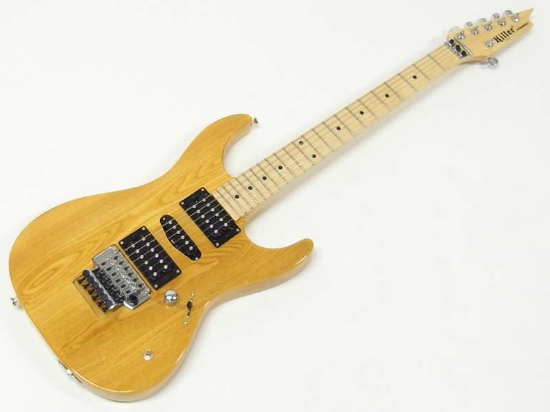 Killer ( キラー ) KG-STARSHELL (NAT)【スターシェル エレキギター】【GS412B プレゼント】