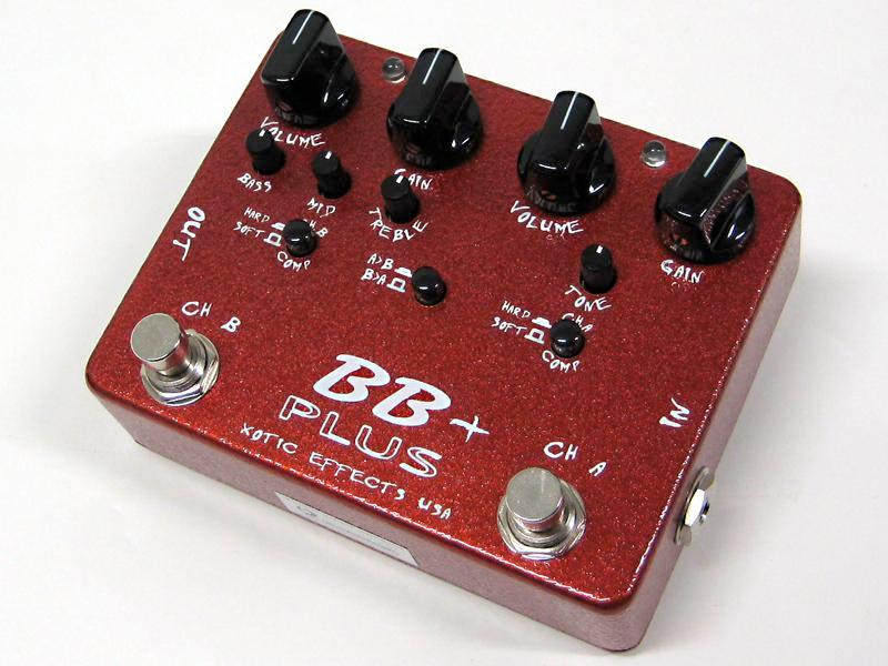 Xotic ( エキゾチック ) BB Plus【人気のBB プリアンプの 進化版 】