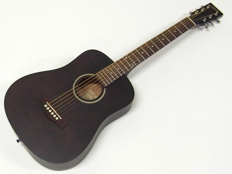 S.Yairi ( エスヤイリ ) YM-02(BK)【コンパクト アコースティックギター ミニアコギ 】【新春特価! 】