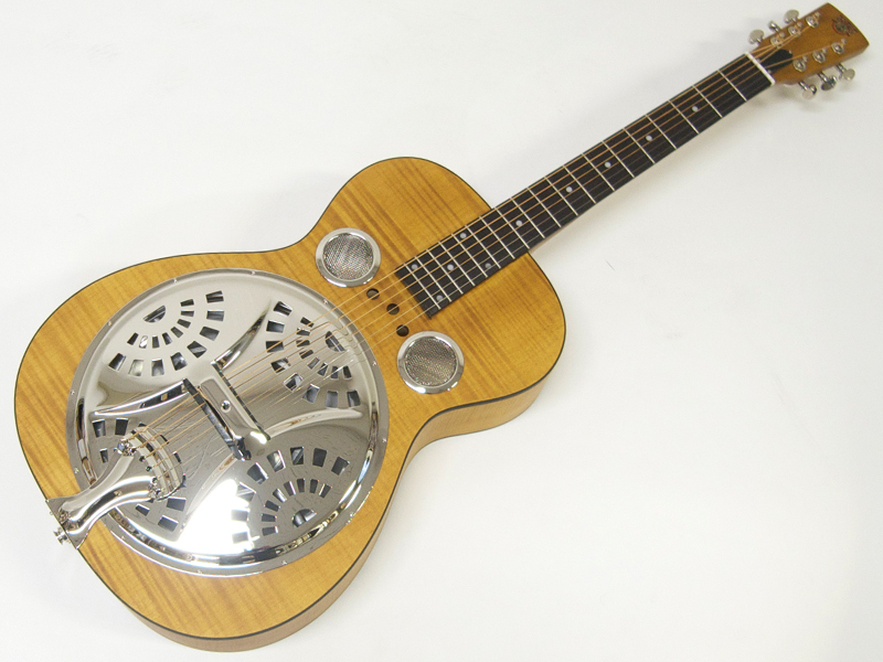 Epiphone ( エピフォン ) Dobro Hound Dog Deluxe Round Neck【春特価! 】 【 by ギブソン ラウンドネック ドブロ リゾネーター 】