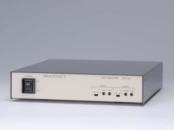 IMAGENICS ( イメージニクス ) DA-144 ◆ 映像・音声1入力4分配器。 [ 映像・音声関連機器 ][ 送料無料 ]