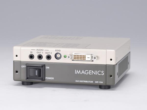 DVI分配器 HDCP対応 1入力2出力 IMAGENICS イメージニクス DIF-12A 送料無料 在庫あり 映像 2月18日時点 格安 在庫あり 価格でご提供いたします 音声関連機器