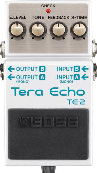 BOSS ( ボス ) TE-2 Tera Echo 【テラエコー 】 【リバーブやディレイとは違った今までにない音の広がり 】