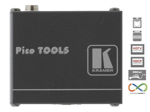 KRAMER(ELECTRONICS) PT-572+ ◆ HDMI ツイスト・ペア受信器 [ 映像・音声関連機器 ]