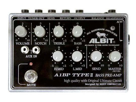 ALBIT A1BP Type-II【 純国産ハンドメイド ! ベースプリアンプ ! 】