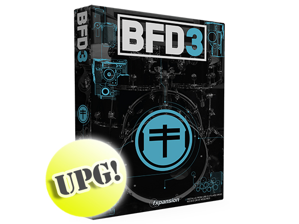 fxpansion ( エフエックスパンション ) BFD3 Upgrade from BFD2 w/USB2.0 Flash Drive【FPBFD3UUSB】 ◆【ドラム音源】【DTM】【DAW】