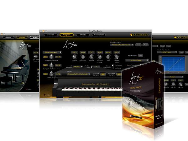 Synthogy ( シンソジー ) Ivory II Grand Pianos ◆【安心の国内正規代理店取扱い商品】【取り寄せ商品/受注後納期確認 】 ◆【 送料無料 】【 ピアノ 音源 】