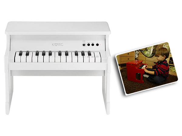 KORG ( コルグ ) tinyPiano WH(ホワイト)◆ デジタル・トイ・ピアノ【TINYPIANO-WH】