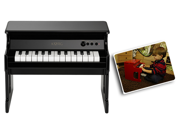 KORG ( コルグ ) tinyPiano BK(ブラック)◆ デジタル・トイ・ピアノ【TINYPIANO-BK】