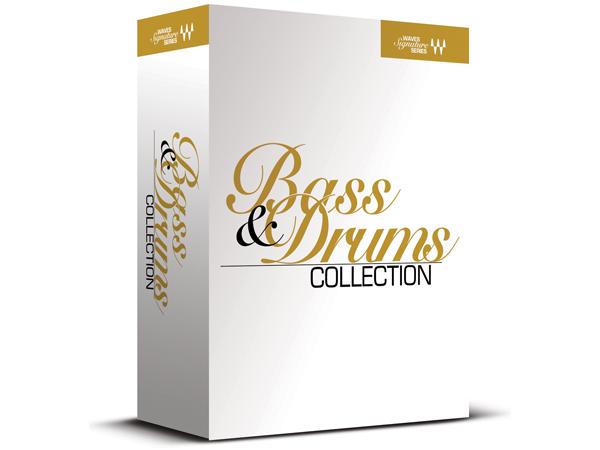 WAVES ( ウェイブス ) Bass & Drums Collection 【BDSSSG】【7月特価[~7/31 まで] 】 ▽ プラグイン ミキシング バンドルパック【smtb-k】【w3】