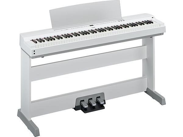 YAMAHA ( ヤマハ ) P-255WH(ホワイト)純正スタンド&ペダルユニットセット ◆ 【送料無料】【 新品 】【 88鍵盤 】【 電子ピアノ 】【 P255 P-255 】【 練習 】【 レッスン 】【 ピアノタッチ 】 【 smtb-TK 】