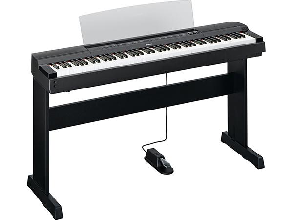 YAMAHA ( ヤマハ ) P-255B(ブラック)純正スタンド付きセット ◆ 【送料無料】【 新品 】【 88鍵盤 】【 電子ピアノ 】【 P255 P-255 】【 練習 】【 レッスン 】【 ピアノタッチ 】 【 smtb-TK 】