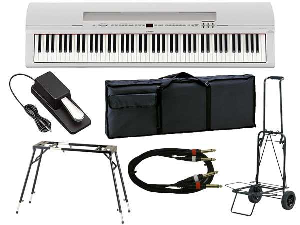 YAMAHA ( ヤマハ ) P-255WH(ホワイト)アップグレードライブセット ◆ 【送料無料】【 新品 】【 88鍵盤 】【 電子ピアノ 】【 P255 P-255 】【 練習 】【 レッスン 】【 ピアノタッチ 】 【 smtb-TK 】