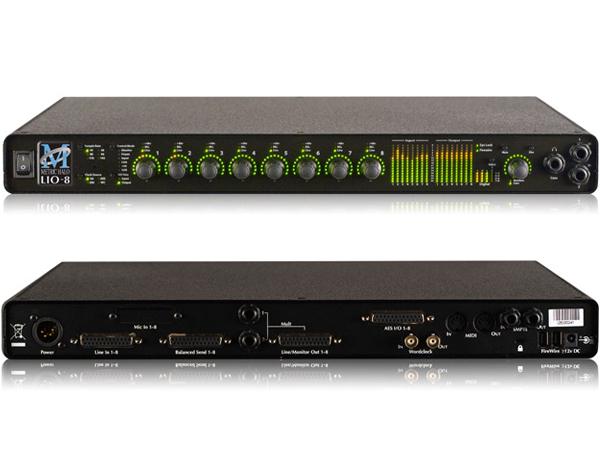 Metric Halo ( メトリック ハロ ) Mobile I/O LIO-8 【[TBF800SET]プレゼント 】 ◆正規代理店取扱い [送料無料] メトリック・ハロ オーディオインターフェイス Firewire DSP搭載