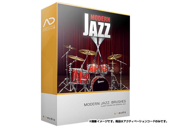 xlnaudio ( エクスエルエヌ オーディオ ) Addictive Drums 2: Modern Jazz Brushes ◆【ADpak】【ダウンロードコード商品】 ◆[正規代理店取扱い][送料無料][ドラム音源][AD2][ADpak]
