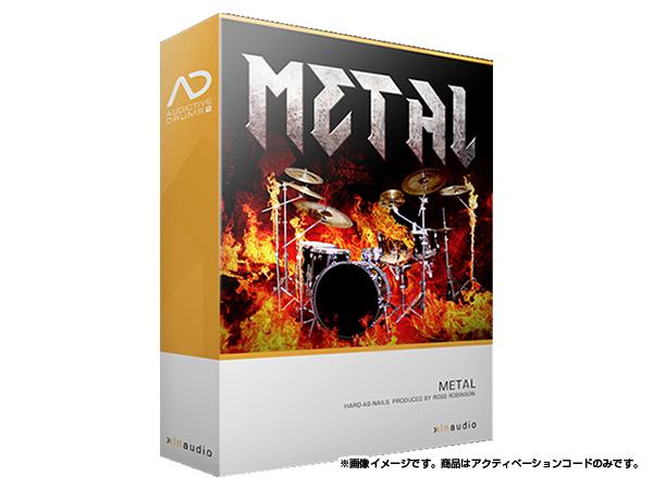 xlnaudio ( エクスエルエヌ オーディオ ) Addictive Drums 2: Metal ◆【ADpak】【ダウンロードコード商品】 ◆[正規代理店取扱い][送料無料][ドラム音源][AD2][ADpak]