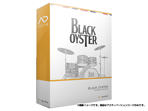 xlnaudio ( エクスエルエヌ オーディオ ) Addictive Drums 2: Black Oyster ◆【ADpak】【ダウンロードコード商品】 ◆[正規代理店取扱い][送料無料][ドラム音源][AD2][ADpak]