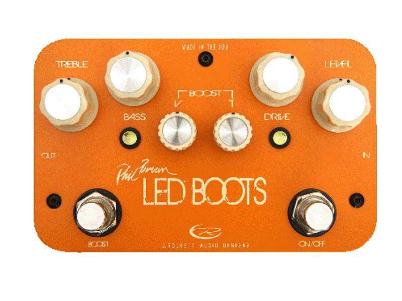 Rockett Pedals ( ロケットペダル ) Phil Brown / LED BOOTS【オーバードライブ フィル・ブラウン  】