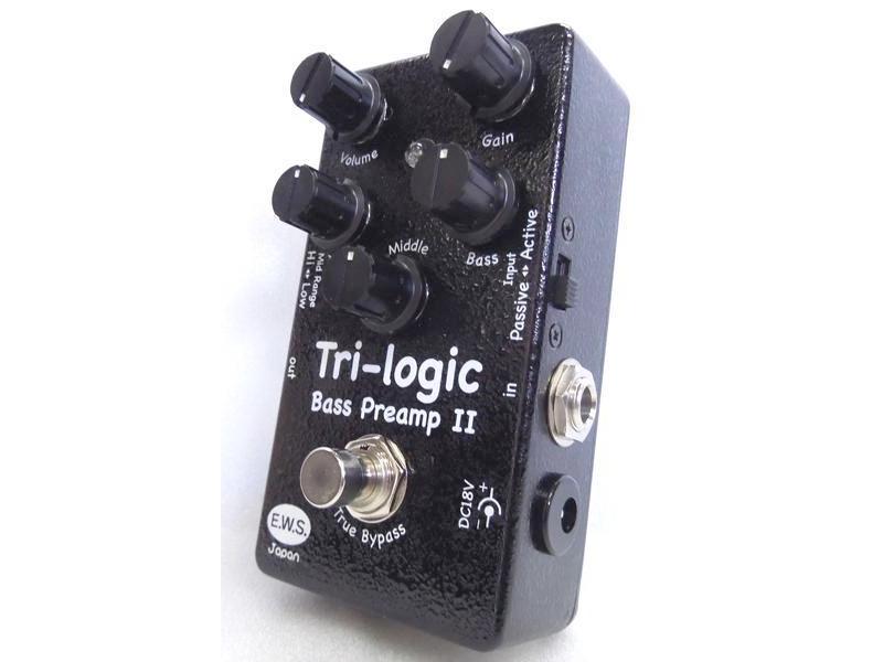 E.W.S. Tri-logic Bass Preamp II【良質ベースプリアンプ 】