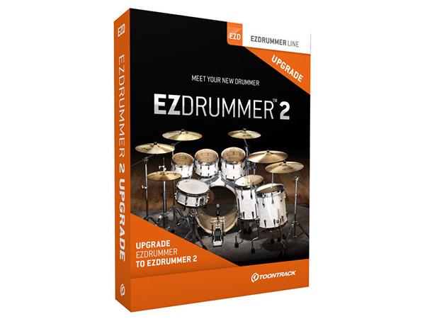 TOONTRACK ( トーントラック ) EZ DRUMMER 2【EZD2】 ◆[正規代理店取扱い][送料無料][ドラム音源]