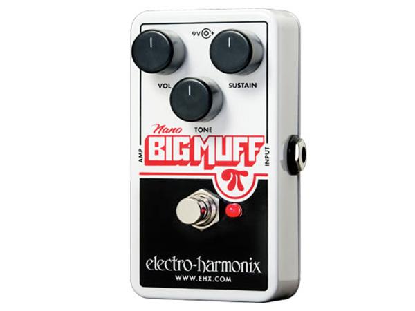 Electro Harmonix ( エレクトロハーモニクス ) Nano Big Muff【ナノ ビッグマフ ディストーション 】【EH3012】 コンパクトエフェクター