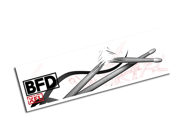 fxpansion ( エフエックスパンション ) BFD2 Expansion KIT: XFL ◆【BFD3でもご使用頂けます!】 ◆【正規代理店取扱い】【BFD拡張音源】【ドラム音源】【DTM】【DAW】