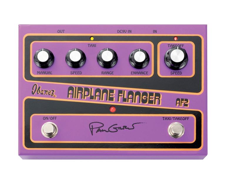 Ibanez ( アイバニーズ ) AF2【Guilbert Signature Pedal AIRPLANE FLANGER 】 フランジャー