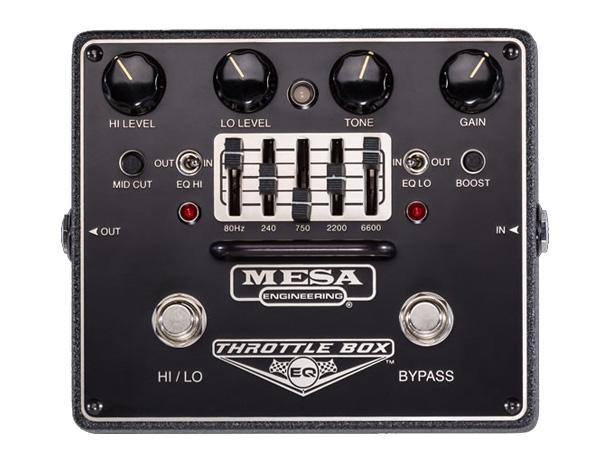 Mesa Boogie ( メサ・ブギー ) THROTTLE BOX EQ【オーバードライブ 】 ◆ メサブギー コンパクトエフェクター