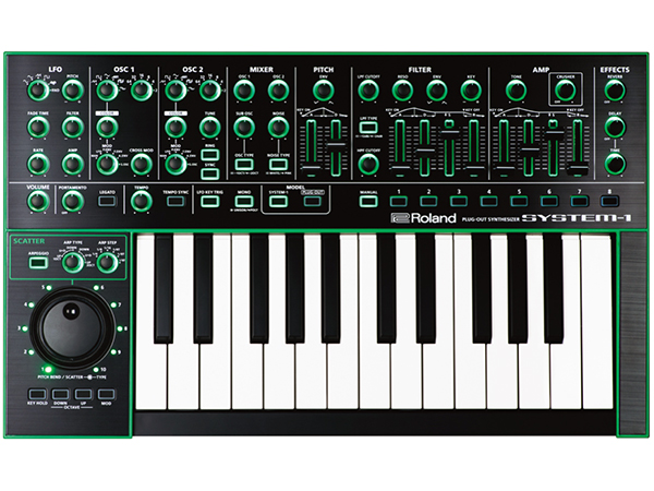 Roland ( ローランド ) SYSTEM-1 ◆ PLUG-OUT Synthesizer 【AIRA SYSTEM-1】 【AIRA】【モデリングシンセサイザー】【DTM】【DAW】