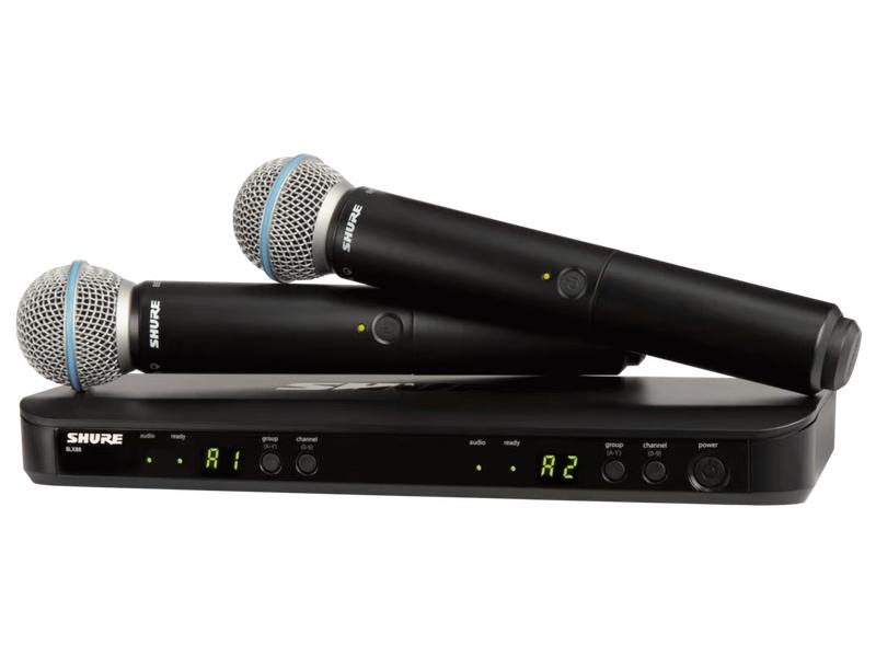 ワイヤレスシステム ) ◆ BLX288/BETA58 ワイヤレスシステム BLX288J/B58-JB【4月8日時点、在庫あり ( 】 ハンドヘルド型 送料無料 SHURE 関連商品 [ ][ ] シュア デュアルチャンネル