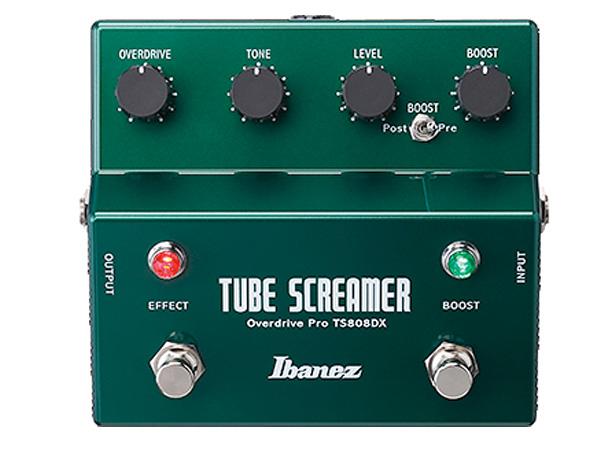 Ibanez ( アイバニーズ ) TS808DX Turbo Tubescreamer w/Booster【オーバードライブ 】 チューブスクリーマー ブースター